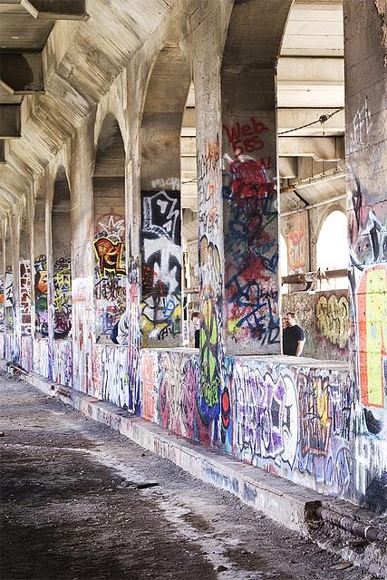 Rochester, NY (four corners) subway graffiti by jsotelo