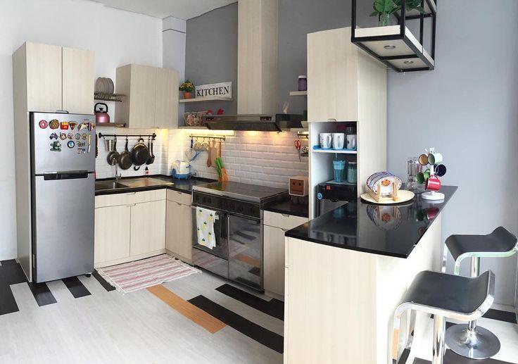 Model Dapur Sederhana Minimalis Terbaru Dengan Kitchen Set
