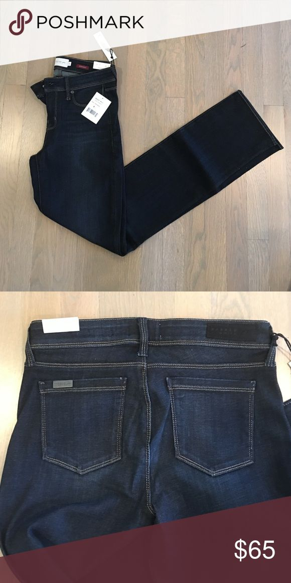 Parker Smith Lynn Straight Cut Jeans in Deep Azure Soft stretchy and unique. Had these as a sample so too small for me but perfect for you! Will be your go to jeans. Jeans Straight Leg