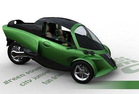 3 wheel suzuki motorcycle car three wheel concept car looks like a cross between a. Black Bedroom Furniture Sets. Home Design Ideas