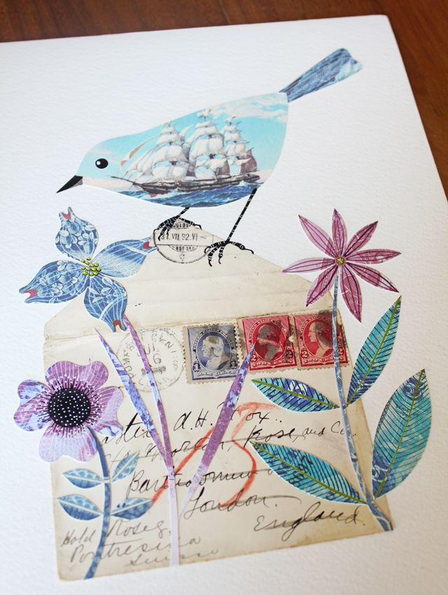 212 Best Bird Drawing By Geninne Images On Pinterest