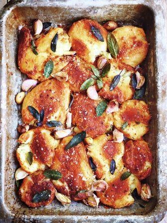 Best roast potatoes via Jamie's Ultimate Christmas (Jamie Oliver Recipes Vegetarian)