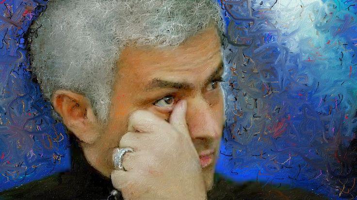 José Mourinh ジョゼ・モウリーニョをお絵描きしました、彼こそが最高のサッカー監督だと思います。  瑠璃色の地球 手嶌葵 http://youtu.be/BzCpeNaiIPg