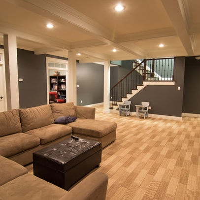 47 best rec room basement ideas images on pinterest for Rec room decorating ideas