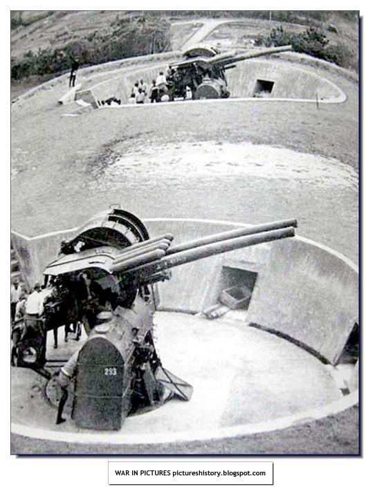 Japanese heavy anti-aircraft guns