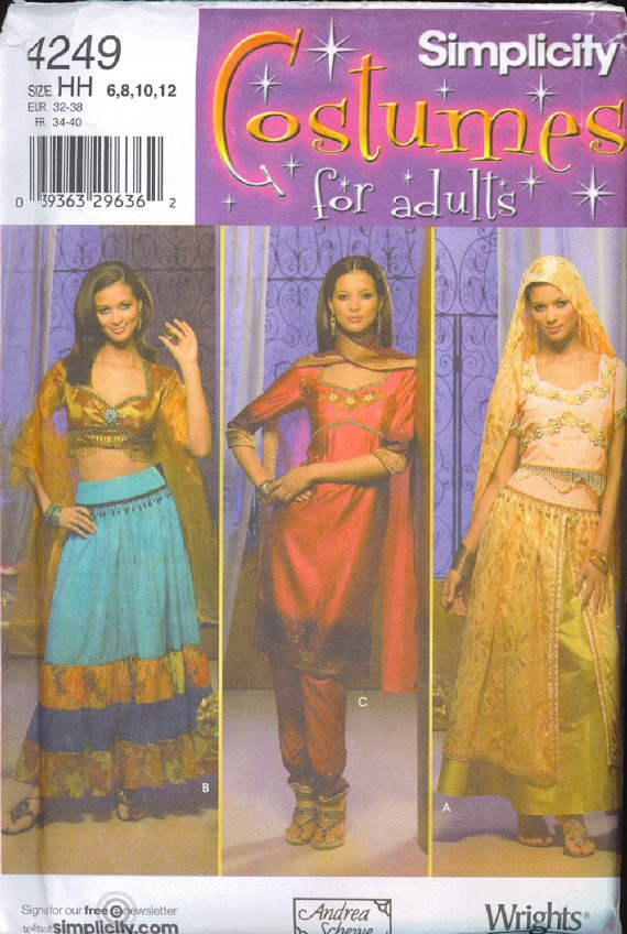 Perfect Belly Dance Sewing Patterns Gift - Blanket Knitting Pattern ...