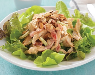 Quick and easy salad Coronation Chicken