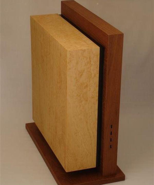 10 Artistic PC case mods made using wood   Designbuzz : Design ideas and concepts