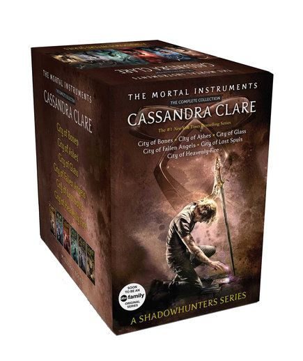 The Mortal Instruments series, by Cassandra Clare | Soon you can binge-watch these novels.