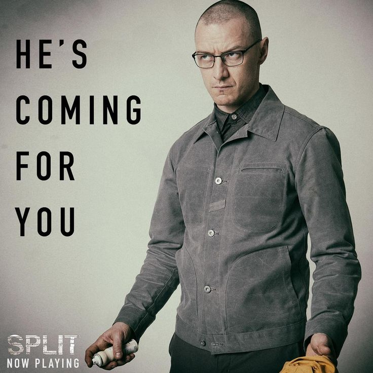 See the movie everyone is talking about... #Split is NOW in theaters.