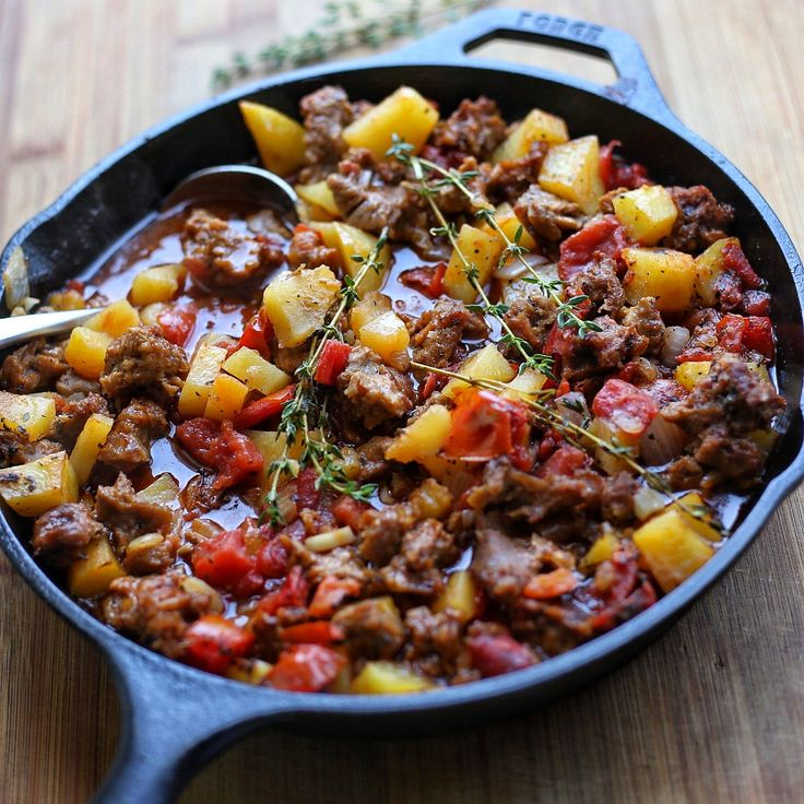 This vegan meat and potatoes casserole will definitely get you thinking of making your own rendition of meat and potatoes. Ready in no time and hearty.