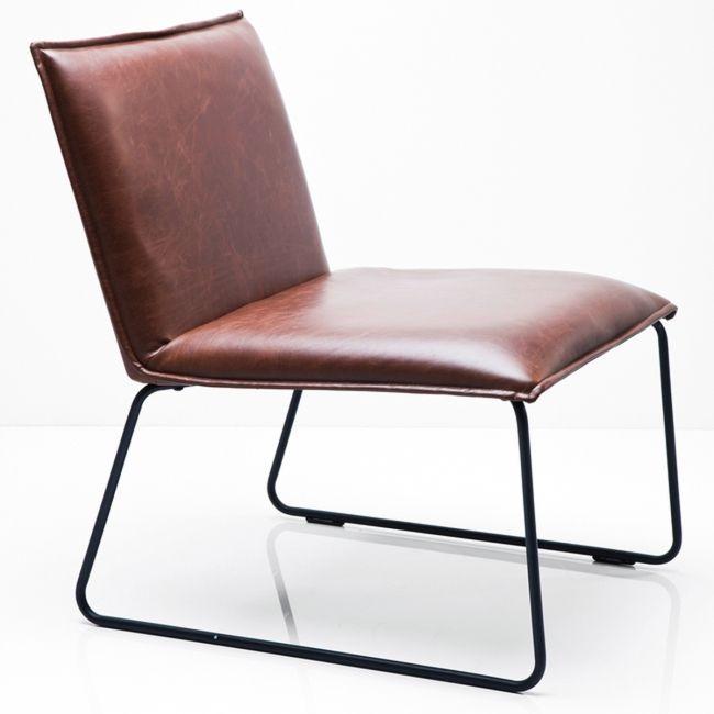 Stilren stol i klassisk vintage design.
