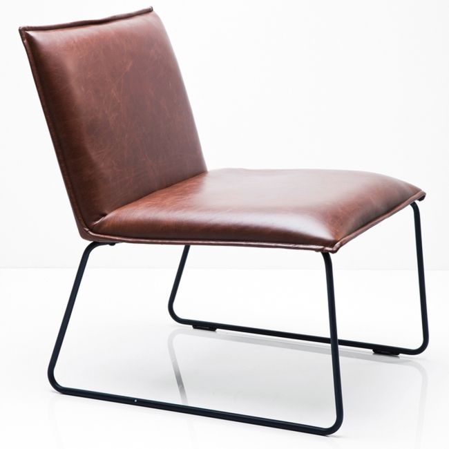 Niels Fåtölj Vintagebrun - TheHome.se