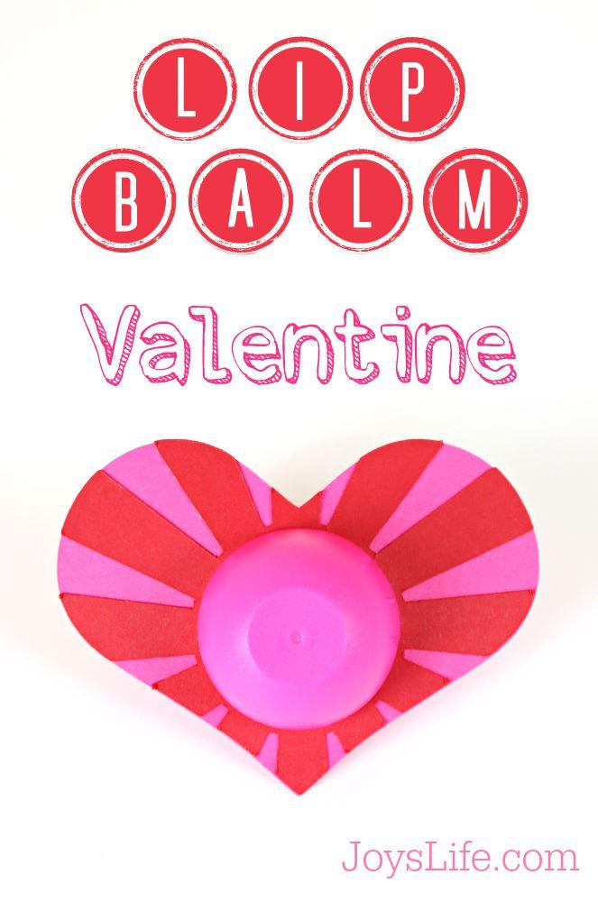 Lip Balm Valentine with Silhouette Cameo #silhouettecameo #valentine #lipbalm #heart