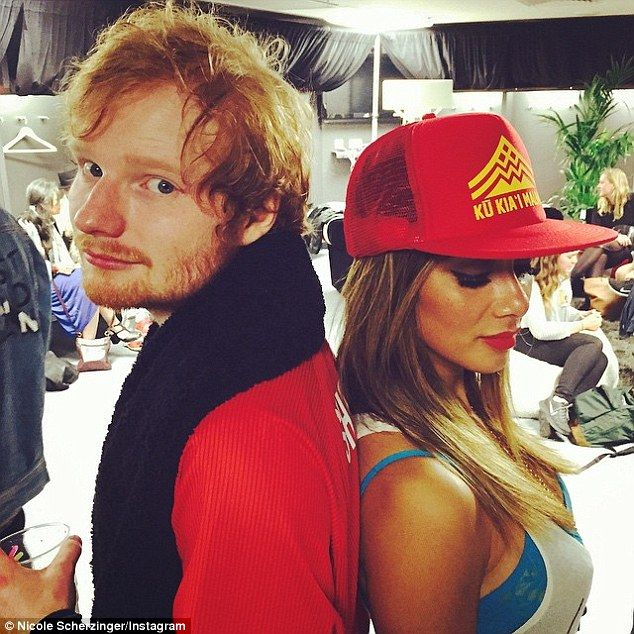 Two of a kind? Ed Sheeran, 24, and Nicole Scherzinger, 37, have been spending more and more time with each other just lately and are said to be 'in the early stages of dating'