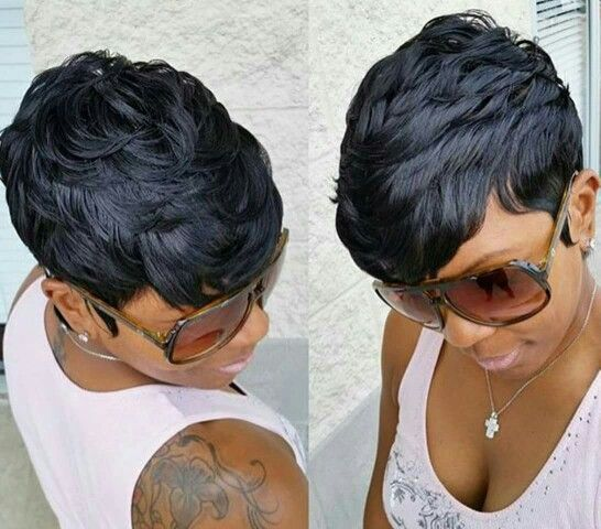 Incredible 1000 Ideas About Short Black Hairstyles On Pinterest Hairstyle Short Hairstyles For Black Women Fulllsitofus