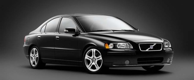 My car: Volvo s60 in black