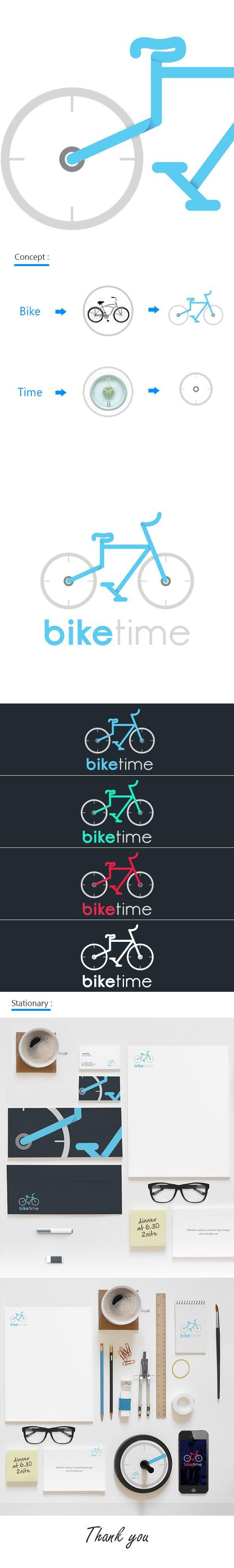 Ampoule laureen luhn design graphique - Biketime Logo On Behance