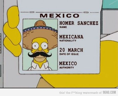 e1f3076c3a81c16930b58efa8839b389 funny mexican jokes mexican humor 27 best los simpson images on pinterest homer simpson, the 3-Way Switch Wiring Diagram for Switch To at gsmx.co
