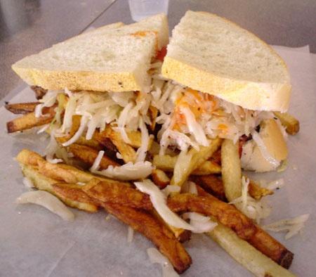 A Primantis' sandwich!  - not the same, but pretty close!