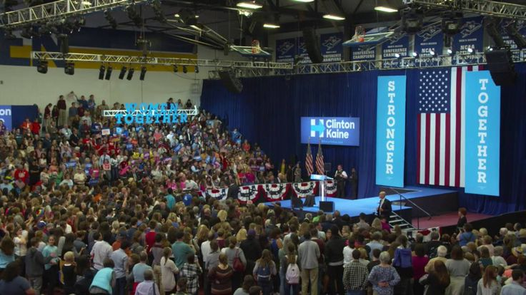 First Lady Michelle Obama live in Manchester, New Hampshire | Hillary Cl...``````Addressing the vile anti-woman comments by the GOP presidential candidate Trump