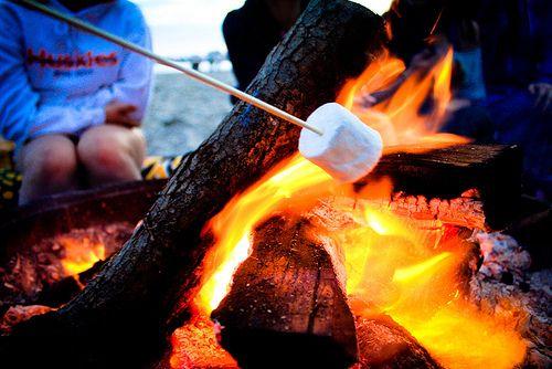 Campfires / bonfires.