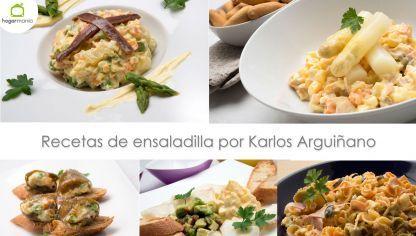 Recetas de ensaladilla por Karlos Arguiñano
