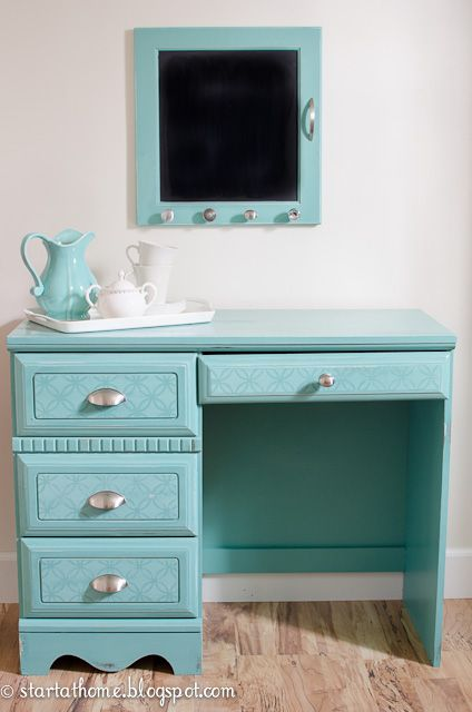 Start at Home: gorgeous upcycled furniture DIY tutorials and for sale items.  LOVE!