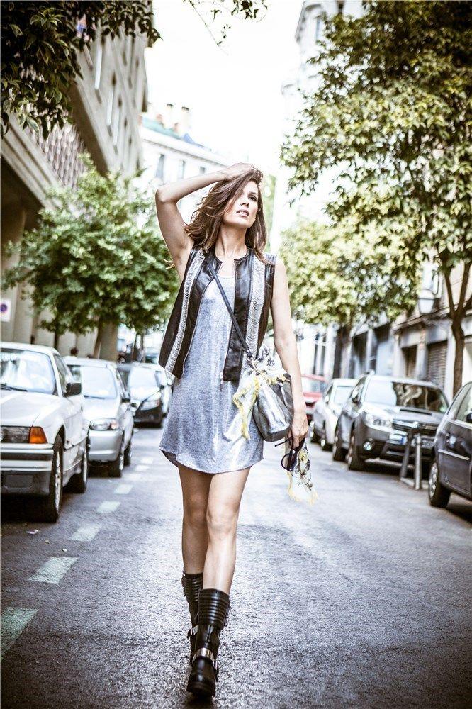 ¿ Te apuntas a la moda rockera que practica Mar Saura ? ► http://www.mujerhoy.com/moda/blog-mar-saura/vestido-plateado-corto-sin-complejos-829701092014.html?slider  Coming Soon Online Store <3 <3