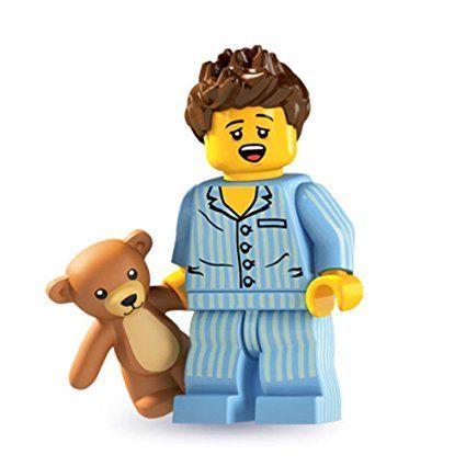 Lego Minifiguren Serie 6 - Schlafmütze