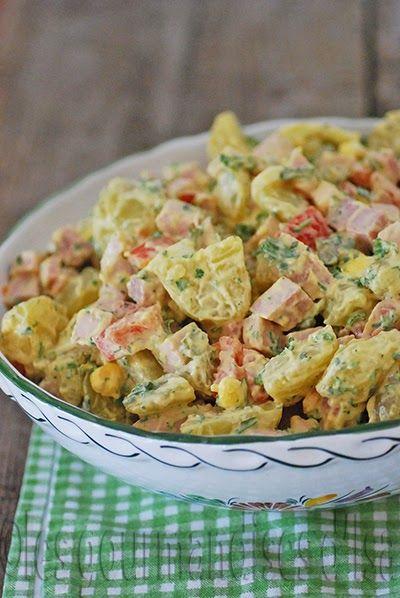 concours, maille canada, salade, piemontaire, pommes de terre, jambon, oeufs, cornichons, tomates, mayonnaise maison,