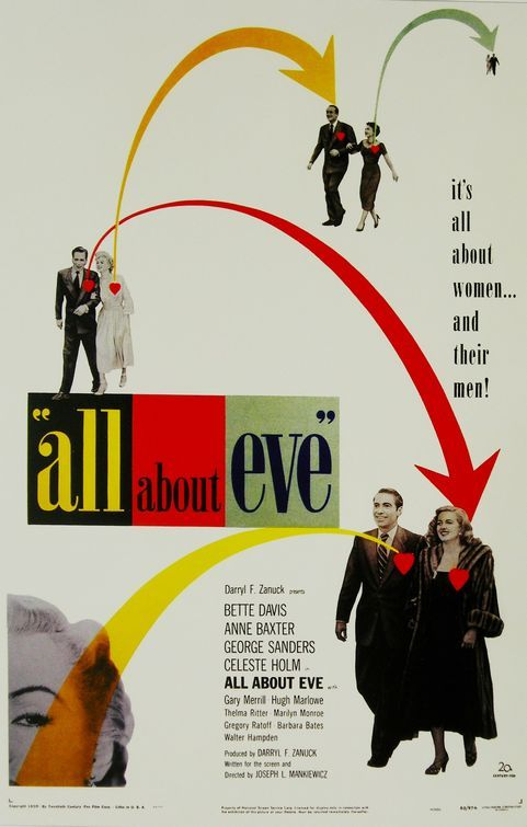 All About Eve 1950 #bettedavis #georgesanders