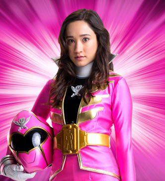 Power Rangers Super Mega Force Pink Rangers