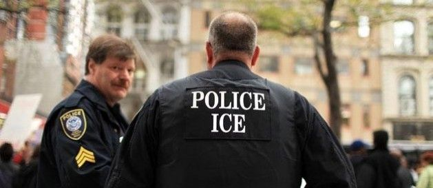 ICE union head Chris Crane ejected from Gang of 8 press event. Chris Crane, head of the immigration officers union, was pulled out of a Senate press conference today when he tried to question Sen. Chuck Schumer during the televised roll-out of the 844-page immigration rewrite.    ...wake up America!