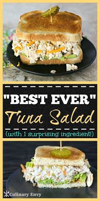 THE BEST EVER TUNA SALAD