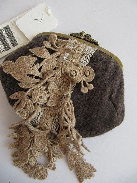 mina perhonen lace purse
