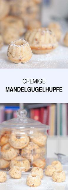 Mini Mandel- Gugelhupfe sind schnell gebacken, super cremig und saftig und einfach nur lecker. Das Rezept gehört zu meinen liebsten Backrezepten und wird immer wieder gerne gebacken. Die Gugelhupfe lassen sich super einfrieren und wieder aufbacken. Dann schmecken sie wieder, wie frisch gebacken.