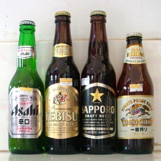 Which beer do you care for? We have so many different brands for beer in Japan. Work hard, and bottoms up after 5pm. Wordless.