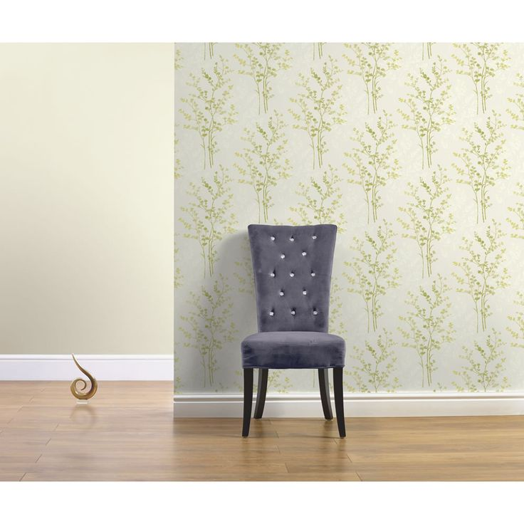 Arthouse Imagine Fern Motif Green Wallpaper 250401 At