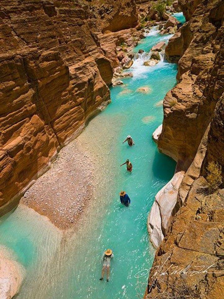 Havasu Creek, Grand Canyon National Park Adventure, Grandcanyon