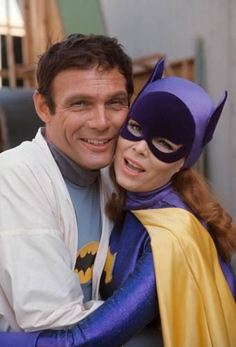 Adam West and Yvonne Craig #Batman #Batgirl