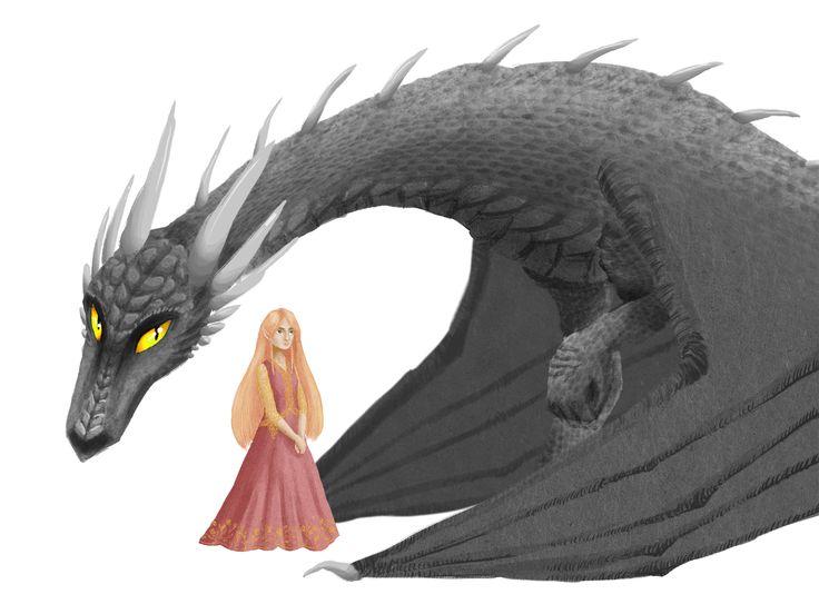 Entry 24: 'Ash Dragon & Shari-Rose' by Mae Mei, age 16