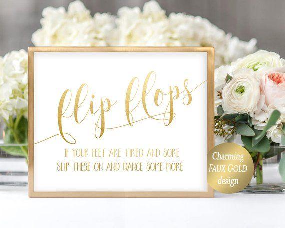 Printable Wedding Flip Flops Sign Flip Flop Sign Printable Dancing Shoes Sign Wedding Dance Wedding Flip Flops For Guests Flip Flop Sign Wedding Flip Flops