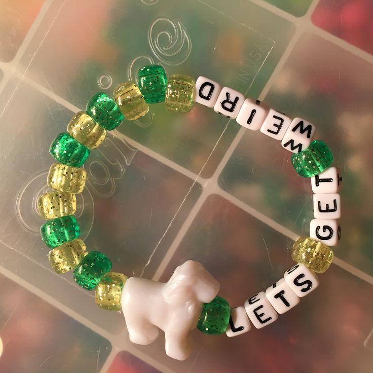 #Kandi #bracelet #letsgetweird #weird