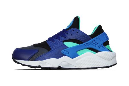 Nike Air Huarache Deep Royal Blue Blue Hero-Green Glow-Black 8d33c2dbf7c