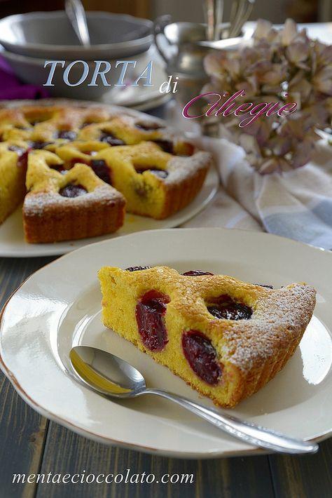 Menta e Cioccolato: Torta di ciliegie facile e buona - Cherry Cake