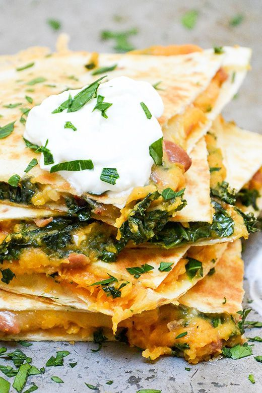 Check out Sweet Potato, Pinto Bean and Kale Quesadillas ...