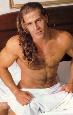 """The Heartbreak Kid""--Shawn Michaels~~ not big on long hair like I used to be...."