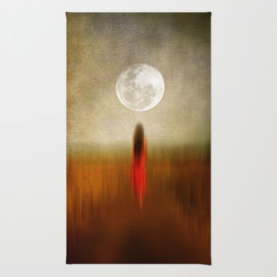 Woman in red. by Viviana Gonzalez Rug by Viviana Gonzalez - $28.00