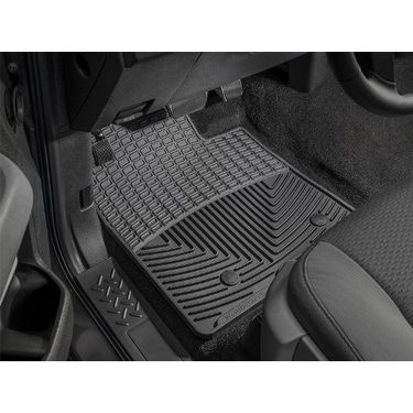 WeatherTech Trim to Fit Front Rubber Mats for Select Cadilla - Black